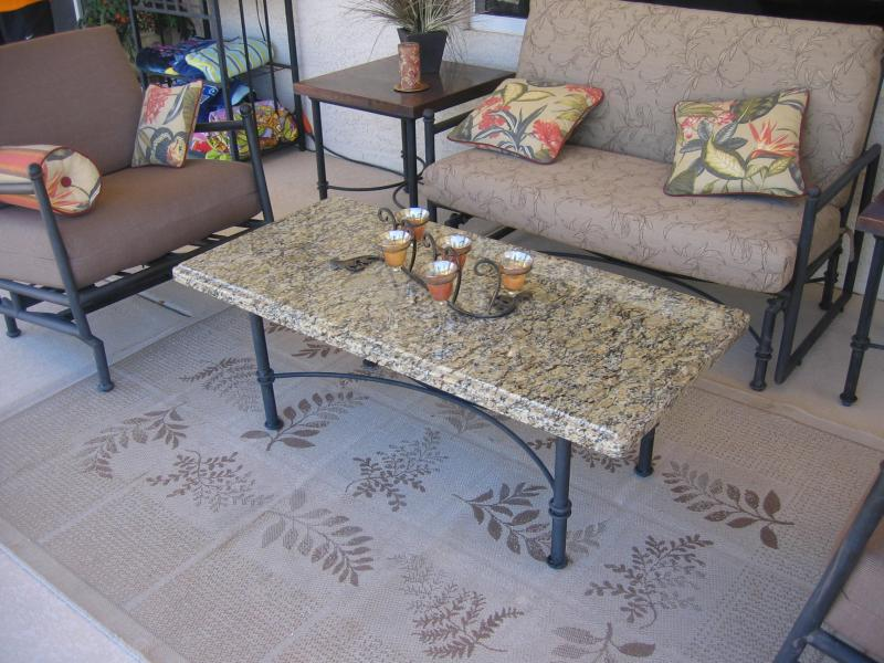 Granite Patio Table Top